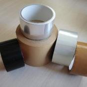 5種類のガムテープの画像