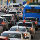 交通渋滞の画像
