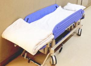 負傷者搬送のイメージ画像