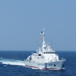 海上保安庁巡視艇の画像